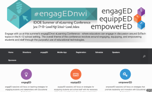 engagEDNWI___IDOE_Summer_of_eLearning_Conference_–_June_17___18__2014_–_Lowell__Indiana